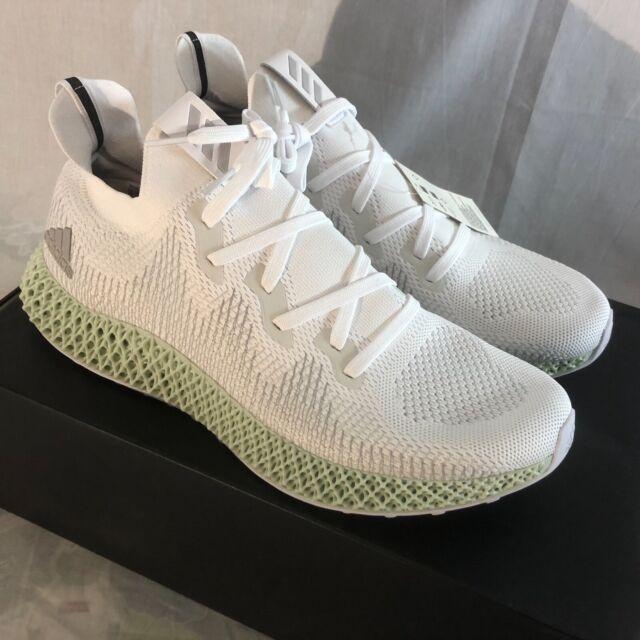 Adidas Alphaedge 4D Futurecraft Men's Size 12 White Running Shoes NEW In Box