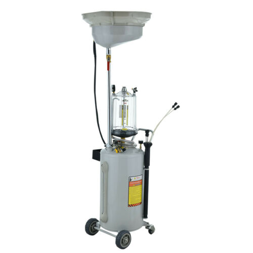 Druckluft Ölabsauggerät Ölabsauger 90L Ölauffanggerät Ölwechsel Ölbehälter