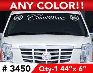 Cadillac Escalade Ats Cts Sts Script Decal Sticker 44 Quot X6