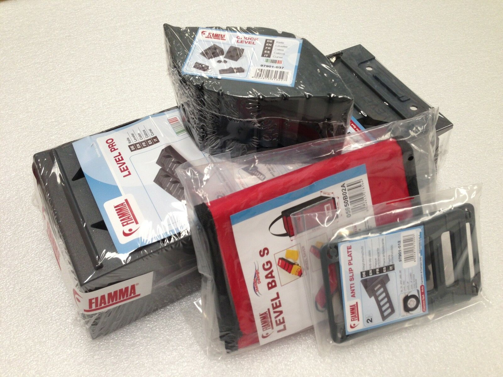 Fiamma Level Pack Pro cales pour caravane