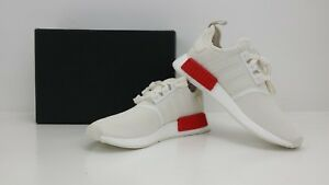 new arrival d6dfa 2fa83 Details about Adidas NMD_R1 Runners Off White/Lush Red B37619 - BRAND NEW  IN BOX