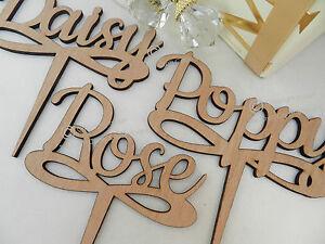 Wedding Table Names, Wooden Script Design, Vintage Rustic Weddings ...