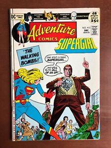 Adventure-Comics-413-1971-7-0-FN-DC-Key-Issue-Bronze-Age-Hawkman-Supergirl