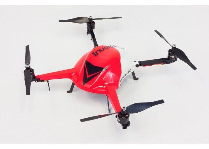 Inverdeix 400 3D Carbon Fiber Multirojoor Quadcopter w  Extrenal Receiver Hitec...
