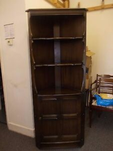 Image Is Loading ERCOL OLD COLONIAL CORNER CABINET
