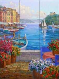 Mikki-Senkarik-Mediterranean-Art-Ceramic-Backsplash-Tile-Mural-MSA140