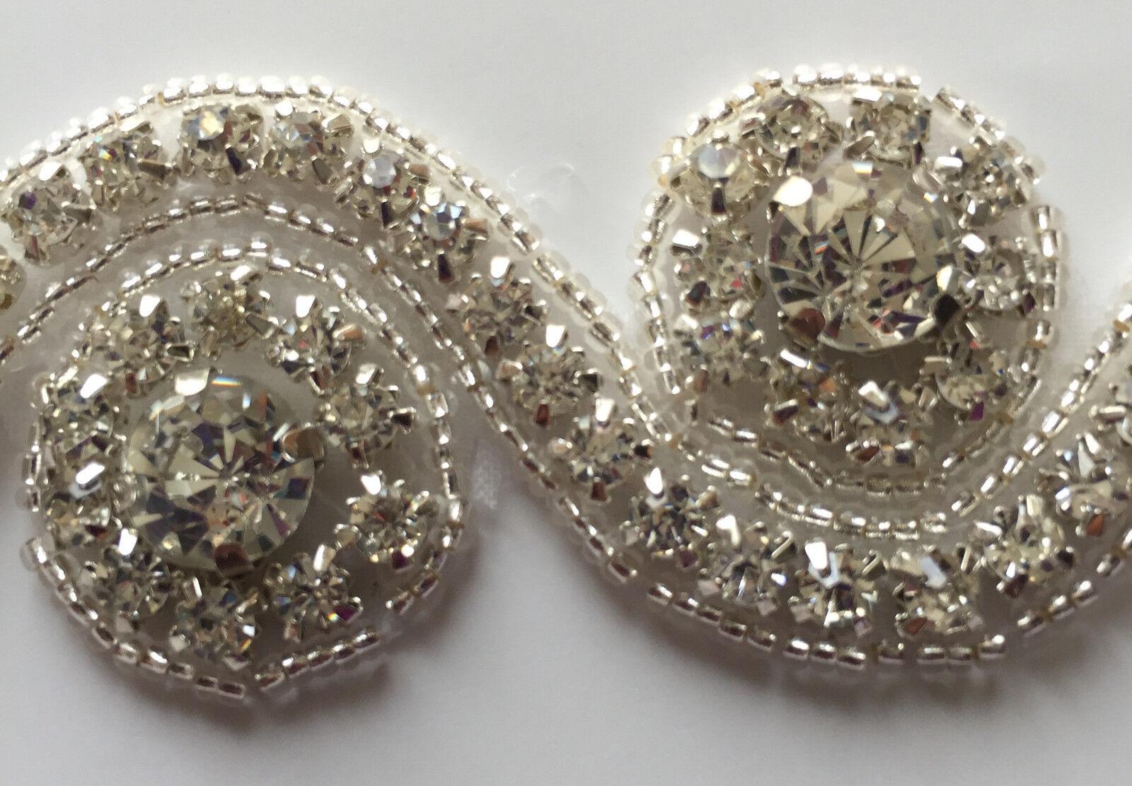 Beautiful Bridal Wedding Rhinestone Headband Pearl Wedding Knot Hair Band
