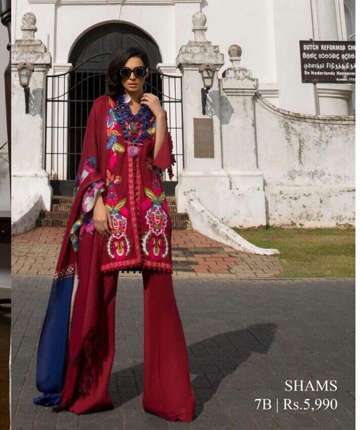 Pakistani Sana Safinaz Khaddar Stitched Salwar Kameez Suit