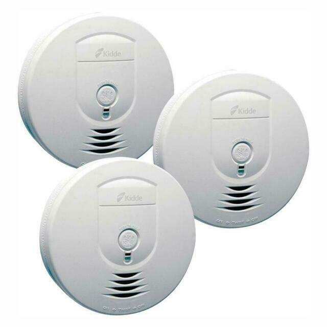 Kidde Rf Sm Dc Battery Operated Smoke Detector With Wire Free