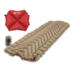 Klymit Static V Recon Sleeping Pad Travel Mat W Pillow X