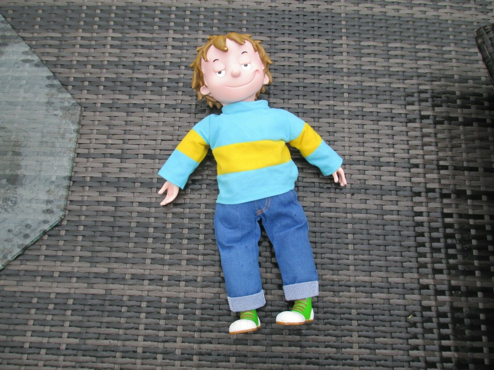 Genuine 2008 Horrid Horrid Horrid Henry - Talking Interactive Plush Doll Toy Figure 17  Rare cab