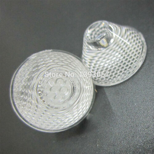 20mm Optical PMMA LED Lens 5//8//10//15//30//45//60 Degree Reflector Collimator