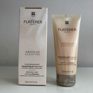 Rene Furterer Absolue Keratine Repairing Shampoo 6.7 oz   new fresh