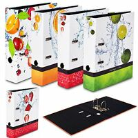 A4 Large 75mm Lever Arch Files Folders Paper Office Document Storage Folder