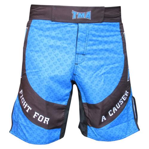 TMA MMA Shorts Muay Mens Short Thai Grappling UFC Kick Boxing Cage Fighting