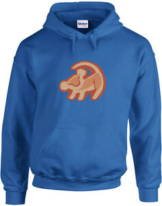 76d85862 Details about Simba Print, The Lion King inspired Printed Hoodie