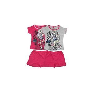 Pyjama-short-fille-Monster-High-pyjama-enfant-100-Coton