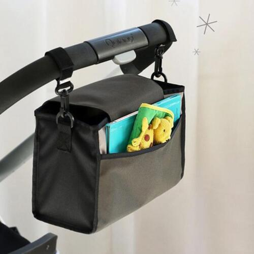 Durable Baby Cart Strollers Organizer Bag Basket Pushchair Cup Bags Pouch LA