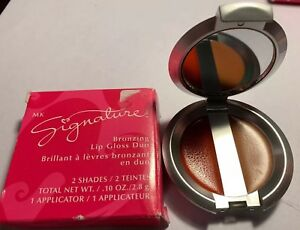 Mary-Kay-Signature-Bronzing-Lip-Gloss-Duo-Coral-Bronze-DiSCONTINUED