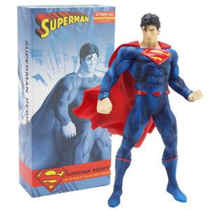Crazy-Toys-Superman-Wiedergeburt-PVC-Action-Figur-Sammlerstueck-Modell-Spielzeug