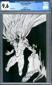 Once & Future #20   Dan Mora Sketch Variant    Boom! Studios 1st Print   CGC 9.6