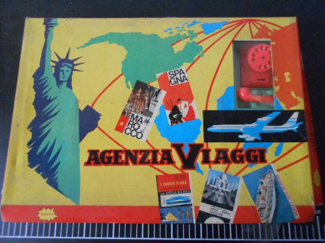 Board game Agenzia Viaggi Gioco Tavolo Vintage New