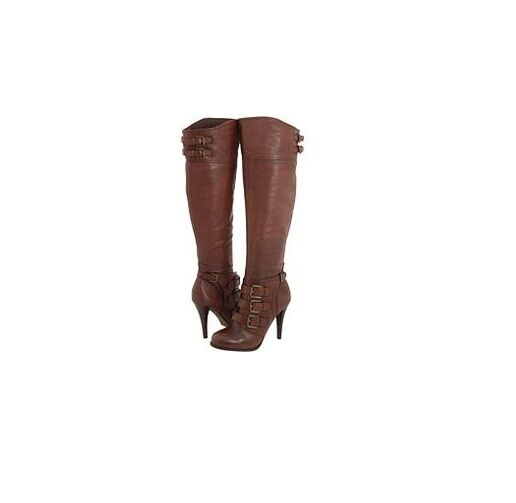 L@@K     SUPERB    ALDO Blomdahl Brown Knee High Boots 8B with Box