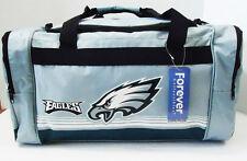 "Philadelphia Eagles DUFFEL Bag Stripes Gym Training New 20"" x 11"" x 11"" NFL"