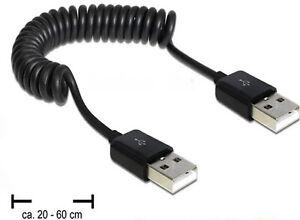 DELOCK-83239-USB-2-0-Anschluss-KABEL-A-STECKER-A-Verbindungskabel-digital-TV-HDD
