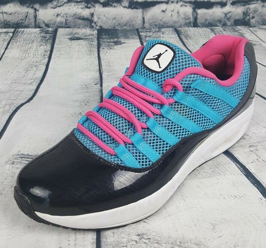 Men's Nike Jordan CMFT VIZ Air shoes bluee Black Sneakers (Size  11.5)