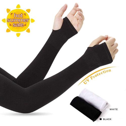 2 Pairs UPF 50 Arm Sleeves All-Around UV Protection Anti Sunburn /& Sunscreen