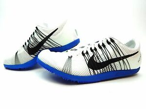 Nike Zoom Matumbo 2 Track Spikes Shoes SIZE 13  White Black Blue 526625