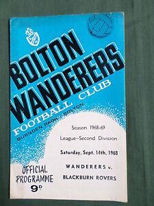 BOLTON-WANDERERS-v-BLACKBURN-ROVERS-DIV-2-1968-69
