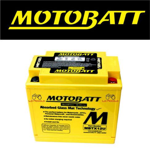 S BATTERIA MOTOBATT YTX12-BS YTX14-BS SUZUKI SV1000 - 1000CC 2003-2007