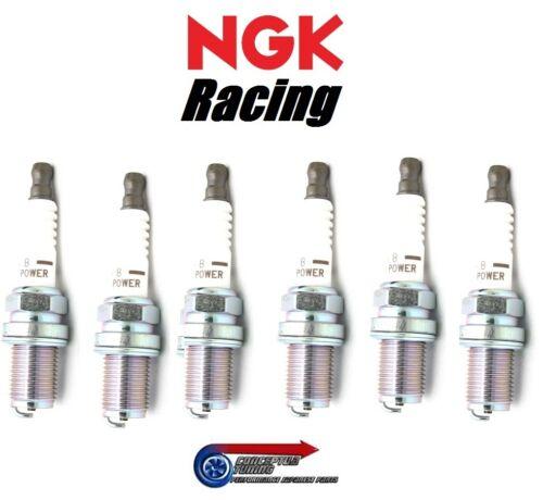 Set 6x Kälter NGK V-Strom Racing Zündkerzen Hr7 für R33 GTR Skyline Rb26dett