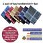 100-Mens-Cotton-Handkerchiefs-Large-Gents-King-Size-White-Dark-Color-Lot thumbnail 21