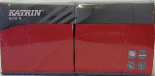 33 x 33 cm Zelltuchserviette 3-lagig 1//4 Falzung 250 Stück//Packung rot