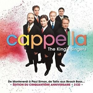 THE-KING-039-S-SINGERS-CAPPELLA-2-CD-NEW