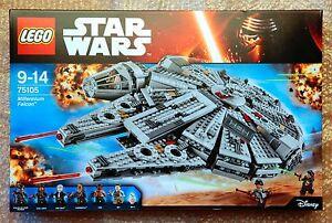 Lego Star Wars 75105 - Faucon Millenium - Jeu neuf, complet & boite scellee MISB