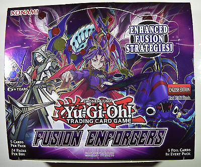 YOU PICK FROM LIST Yu-Gi-Oh Fusion Enforcers Secret /& Super Rare