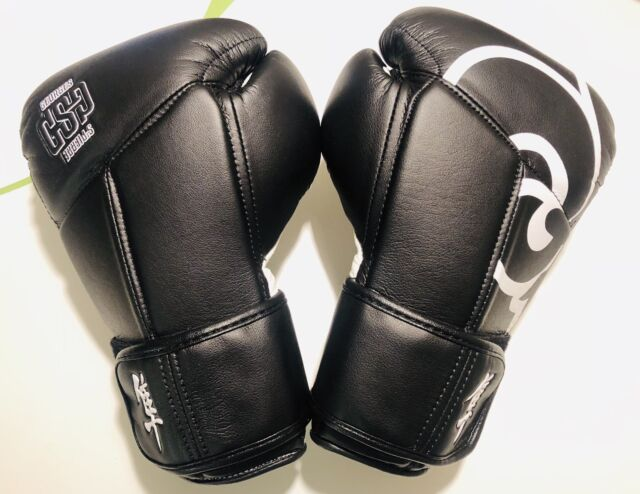 Black sparring mma Hayabusa Muay Thai Bag Gloves Size S//M