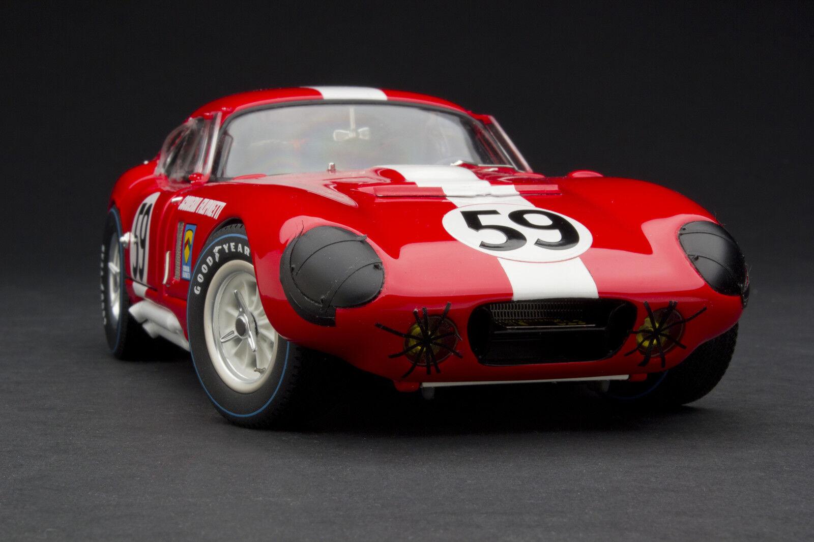 Envío y cambio gratis. Exoto 1965 1965 1965 Escudería Filipinetti Cobra Daytona   Le Mans   1 18    RLG18004B  moda