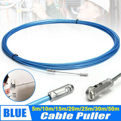 Electrician Tape Conduit Ducting Cable Puller Tools Wheel Pushing for on