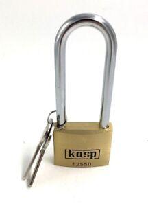 Kasp 125 Series Premium Brass Padlock 50x80mm K12550L80