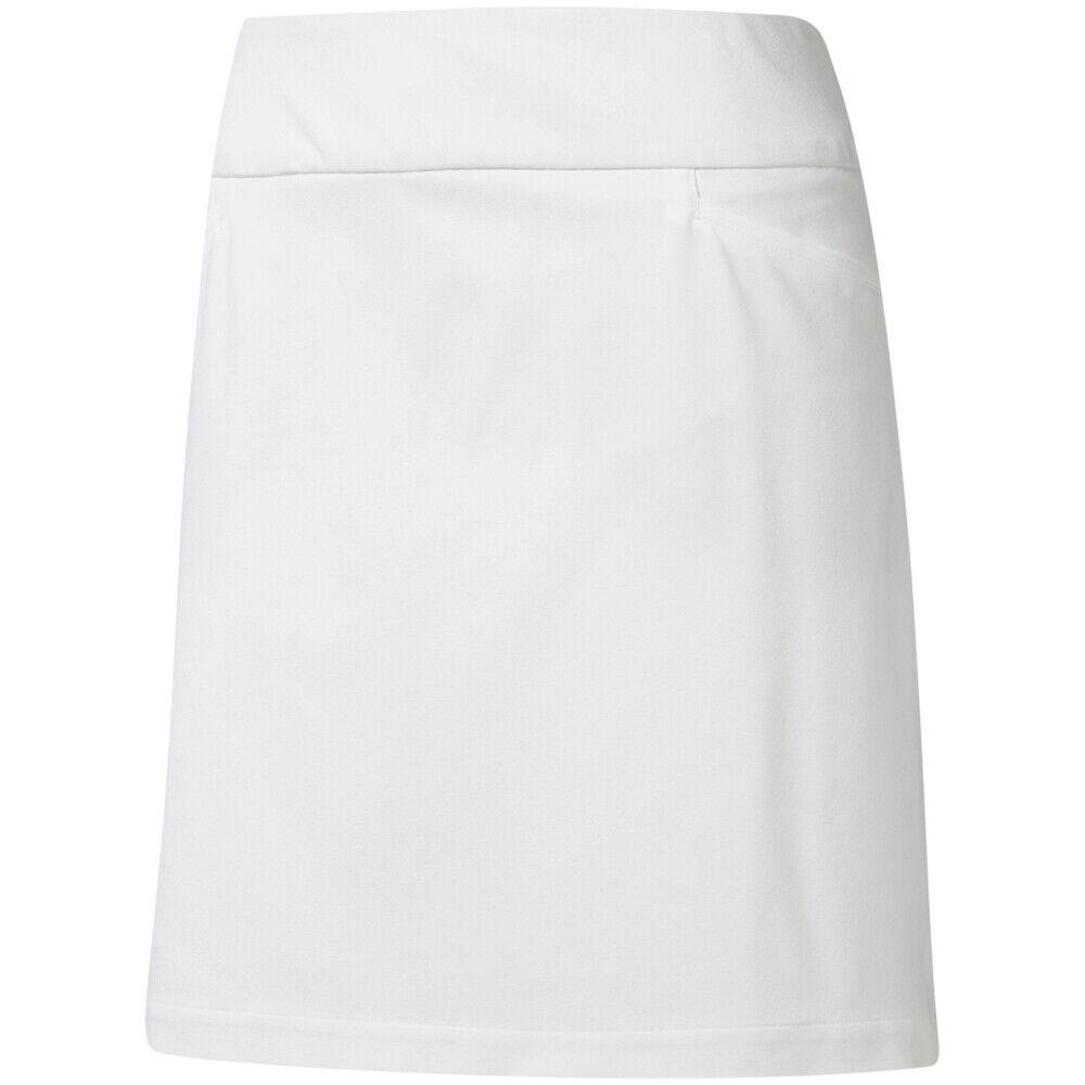 Adidas Damas  tirar-en Elástico Skort en blancoo  selección larga