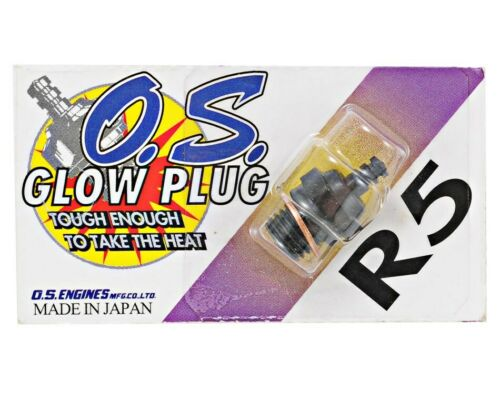 OS ENGINES GLOW PLUG R5 71605200 NITRO SPARK ON ROAD COLD HIGH RPM LEANER NEEDLE