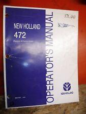 holland 499 mower conditioner operators manual ebay rh ebay co uk new holland 499 service manual new holland 499 service manual