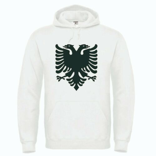 ROOTS Wear Albanie Classic BLASON Capuche Blanc Hoody Hoodie WM EM