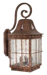 vaxcel lighting ed owd110ci colonial iron edinburgh 4 light outdoor