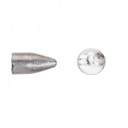 Balzer Texas Carolina Bullet Blei mit transparenter Perle 5g 161150005 TOP//NEU